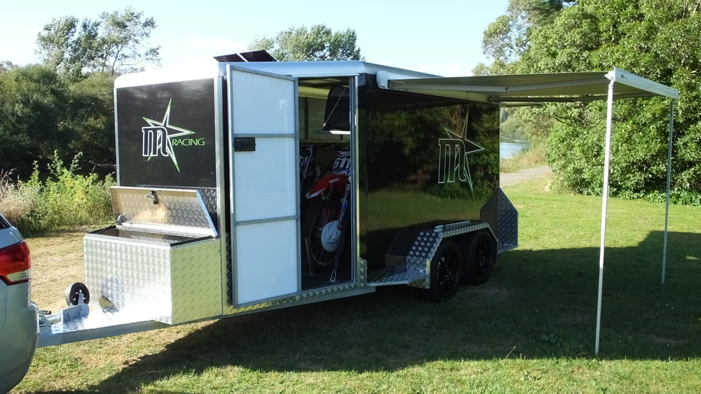 MStar Racing Motorsport Trailer