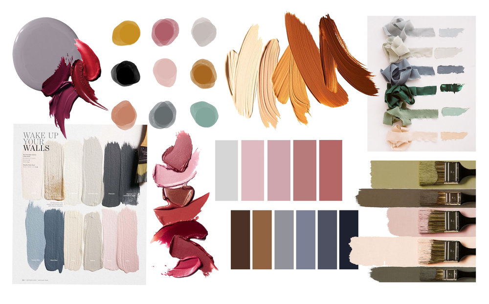 Style Color Palette for your elopement photography session featured by top US photographer, South of Indigo Photography