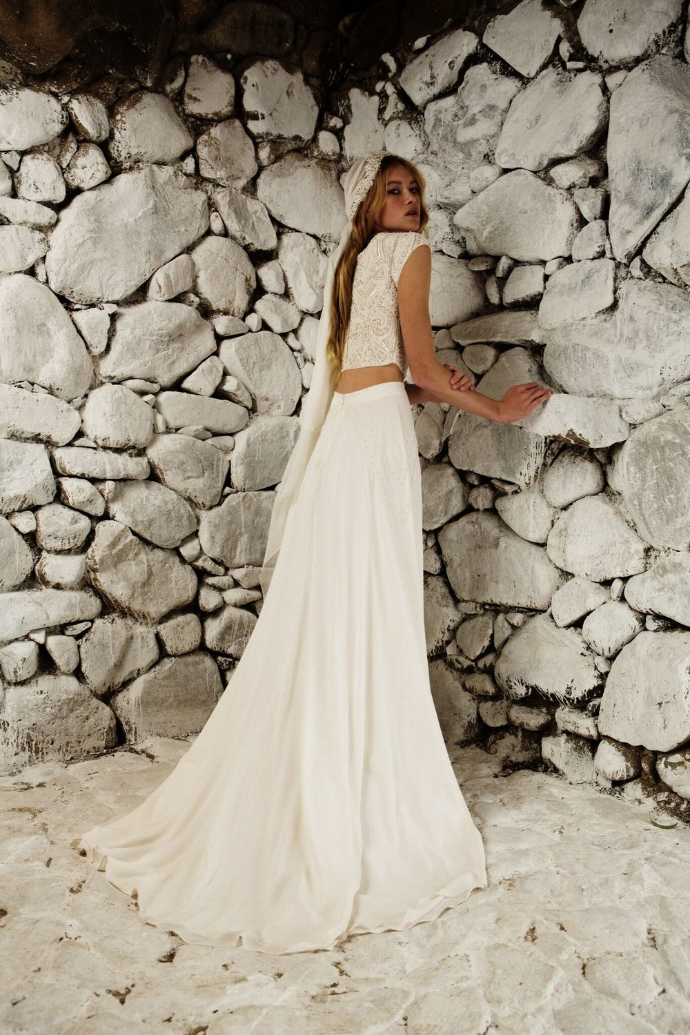 The Bo & Luca Isra gown is available at Rituals of Love Bridal in Gastown.