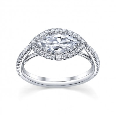Emma Parker & Co. Marquise Diamond Ring