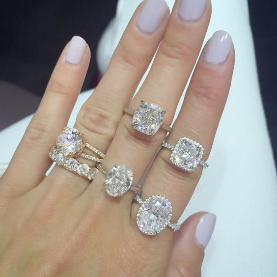 The Top 10 Engagement Rings Blowing Up Our Pinterest — Gem. Male Engagement Wedding Rings. Ornate Wedding Rings. Black Stone Wedding Rings. Amazon In Rings. Suit Rings. Open Back Rings. Muffin Top Wedding Rings. Alexandrite Side Stone Rings