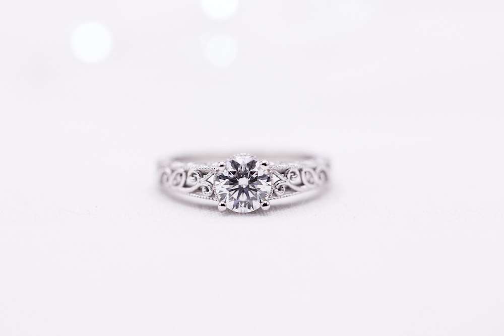 Lab Diamond Ring From Custom Made