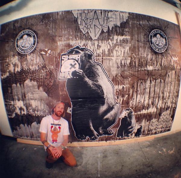 Pat-Milbery_House-Boardshop_Indoor-Installation_Monkey_Wheatpaste.jpg