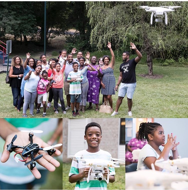 THE BALTIMORE SUN - KIDS IN WEST BALTIMORE SPEND SPRING BREAK AT DRONE CAMP