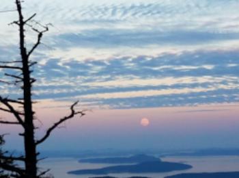 Moonrise, Salt Spring Island