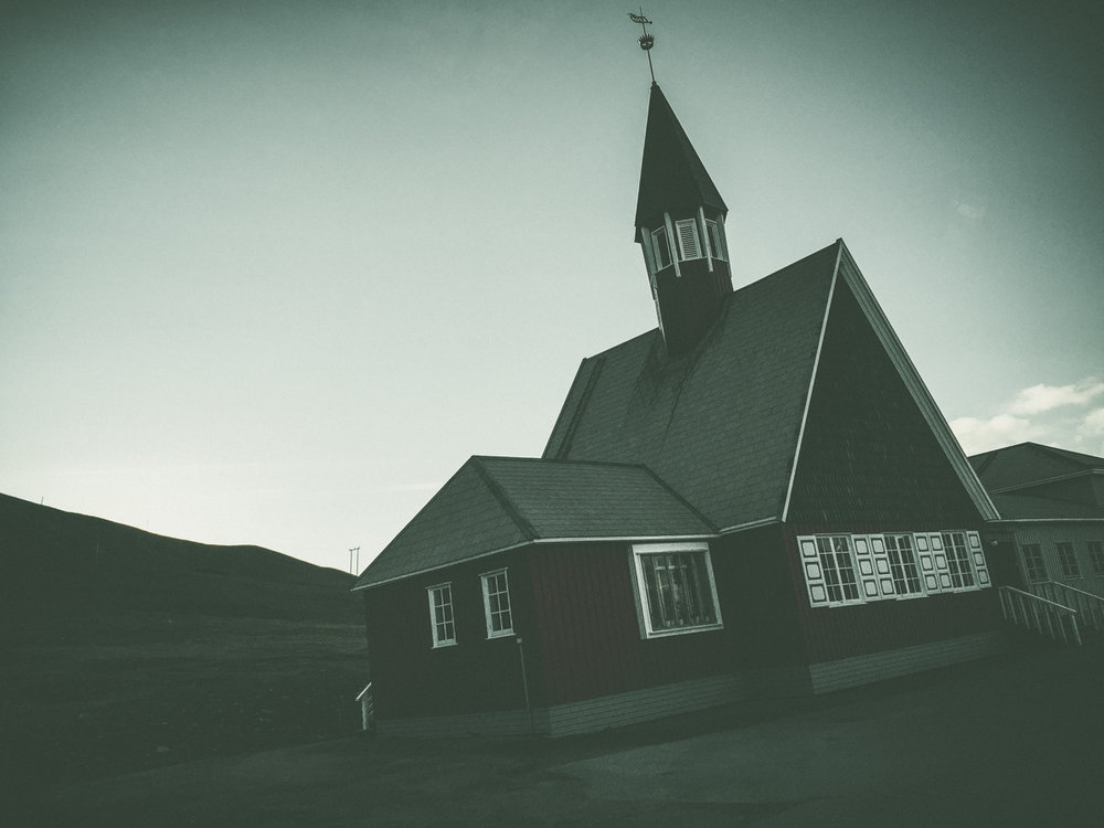 Longyearbyen Church, the northernmost church in the world.