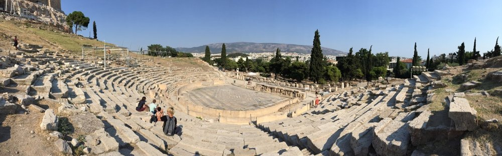 Dionysos Theatre on The Acropolis