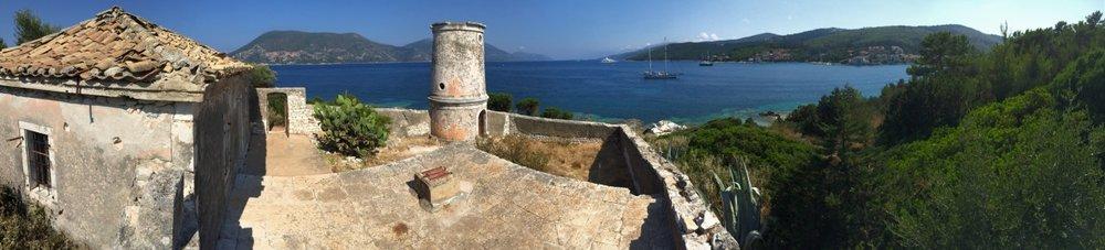 Old Venetian Lighthouse, Fiskardo