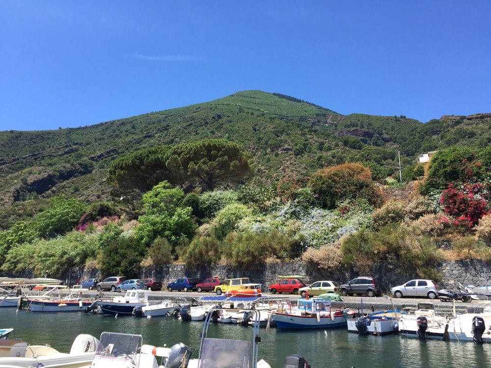 Monte Fossa delle Felci from the marina. 70 minutes to the top!