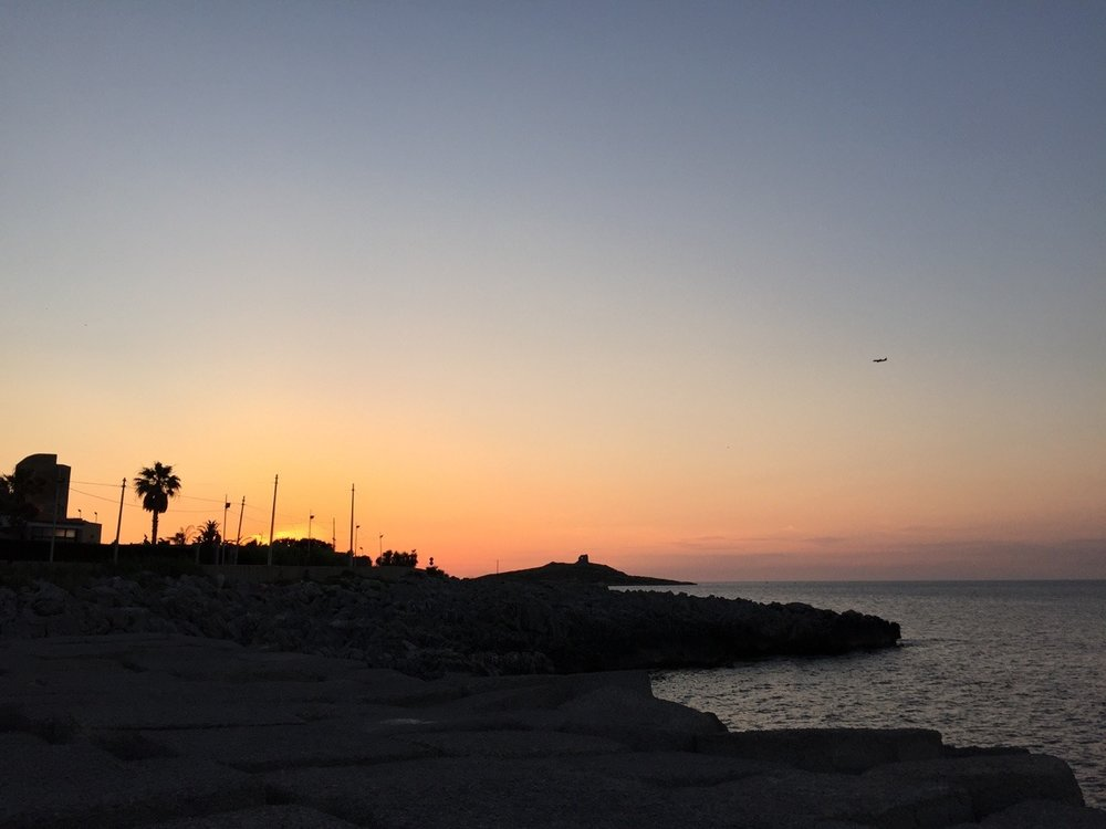 Sunset on Isola delle Femmine