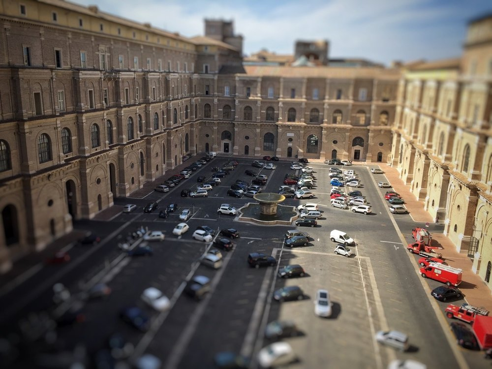 Vatican City parking