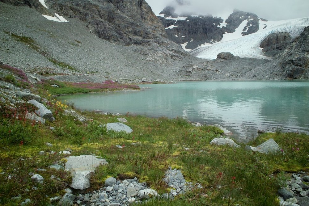 Wedgemount Lake & Glacier