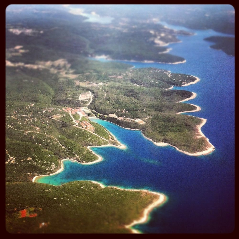 Istria from above