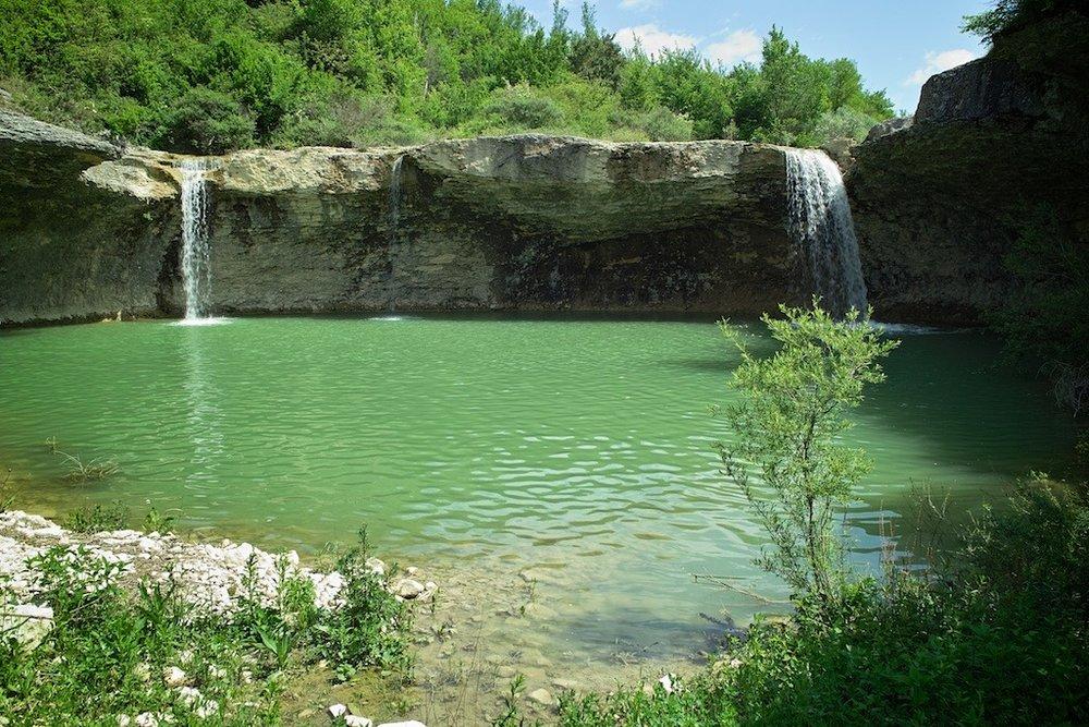 Waterfalls, Pazin
