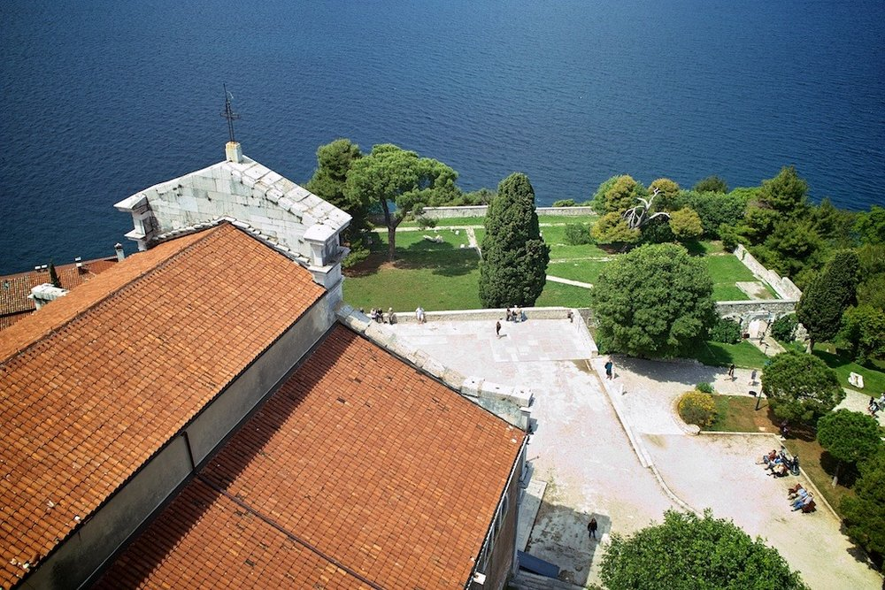 From the Church Bell Tower, Rovinj, Croatia