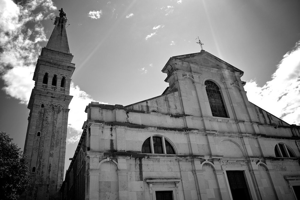 Rovinj Church, Croatia