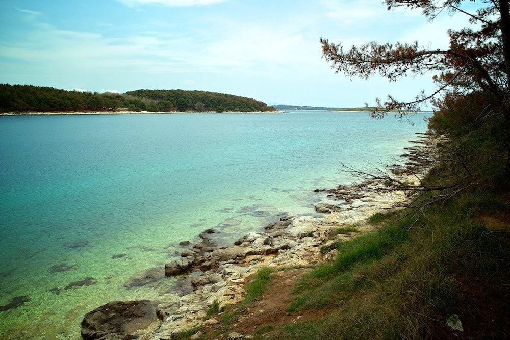 A Lonely Cove, Rt Kamenjak, Croatia