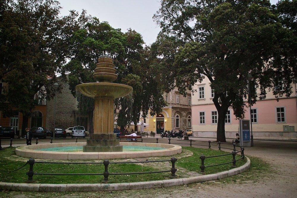 Fountain     Pula, Croatia
