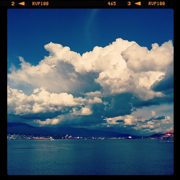 Taken with  Instagram  at Vancouver Harbour
