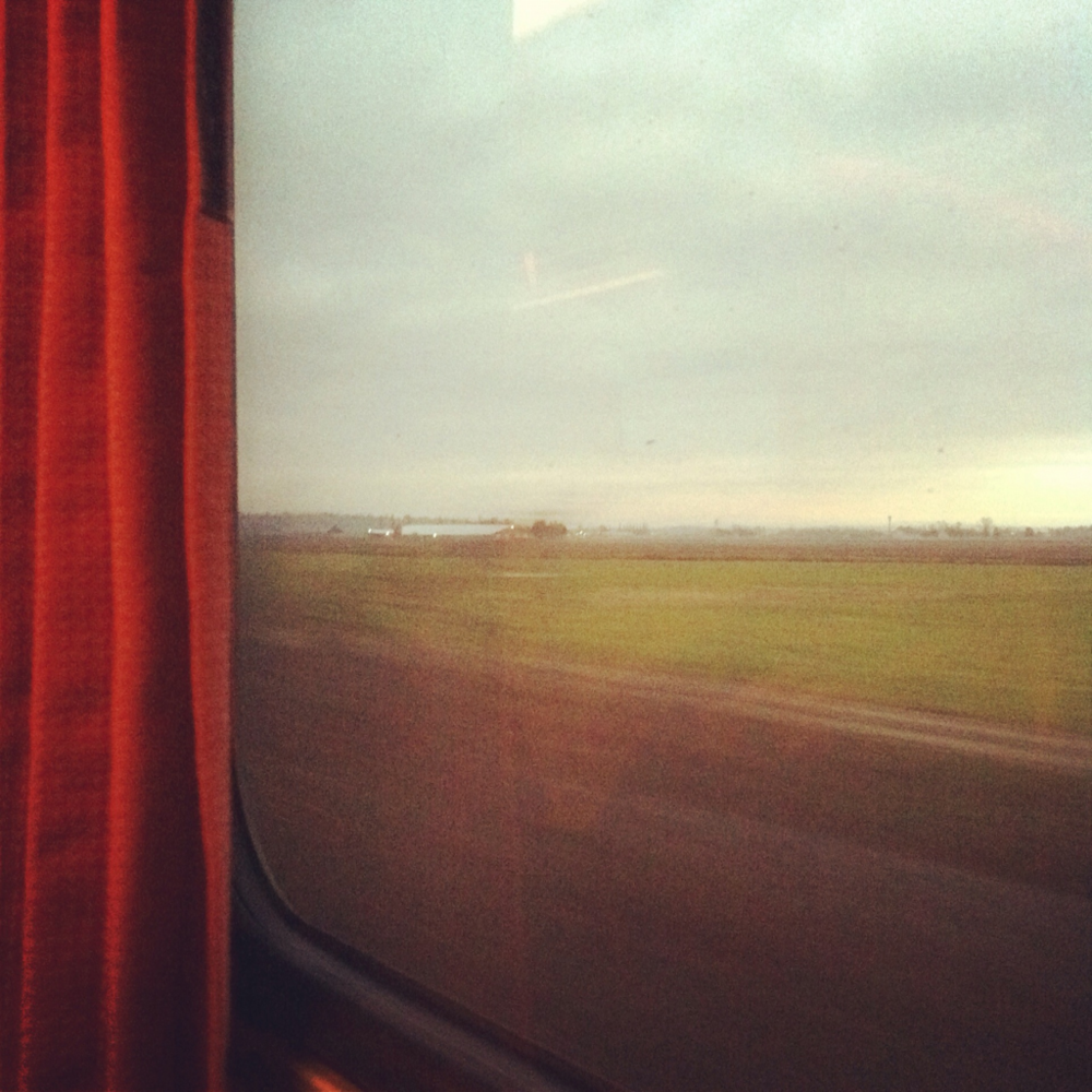 On the morning train