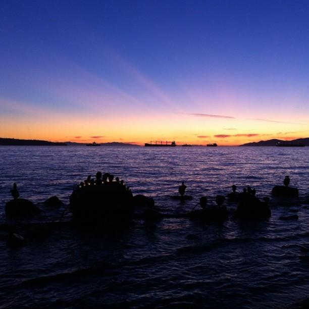 Saturday Sunset (Taken with  Instagram  at English Bay Seawall)