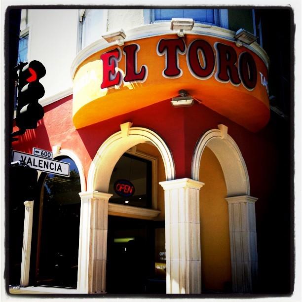 Taken with  Instagram  at Taqueria El Toro