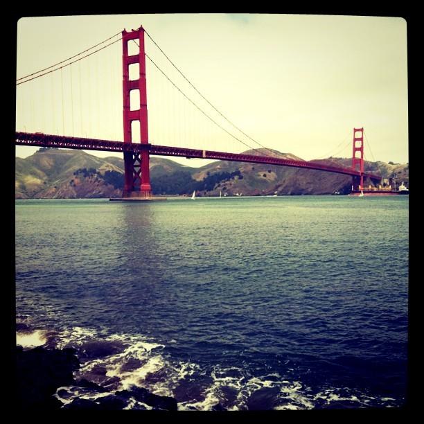 Golden Gate Bridge (Taken with  Instagram  at Golden Gate Bridge)