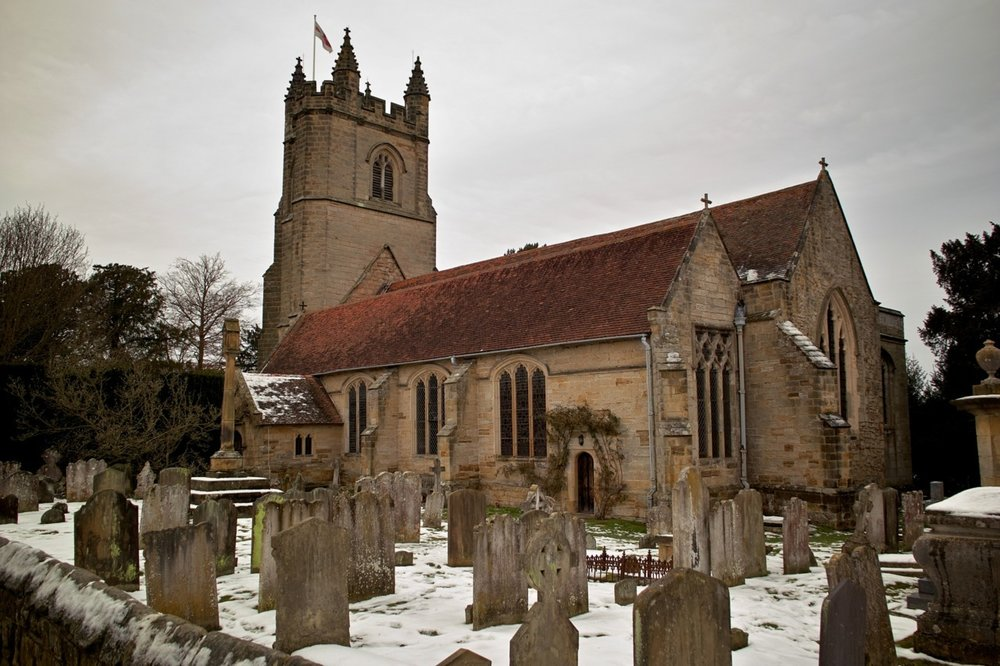 Church of St. Mary, Chiddingstone