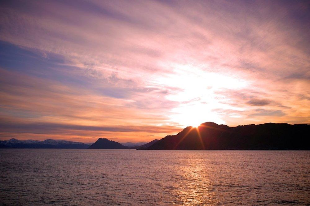 Norskekysten fra Hurtigruten