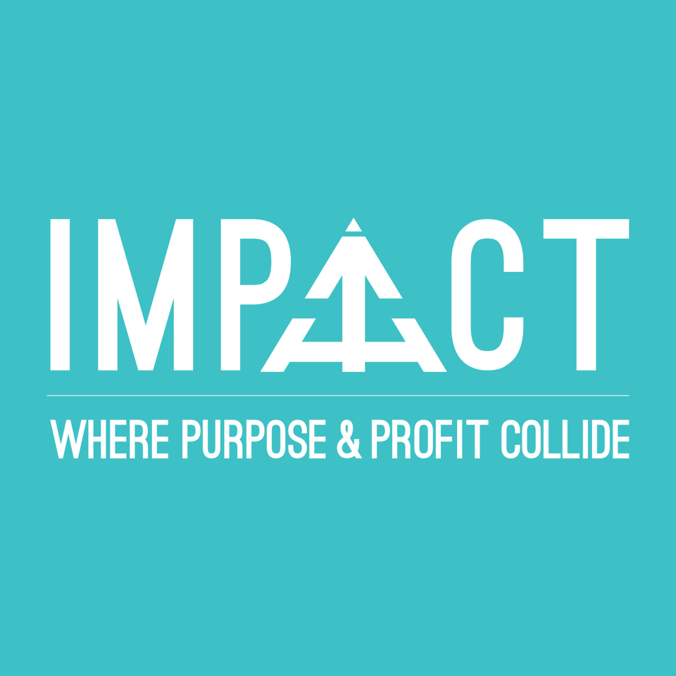 IMPACT logo blue