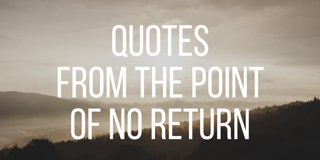 quotes from the point of no return social entrepreneurship