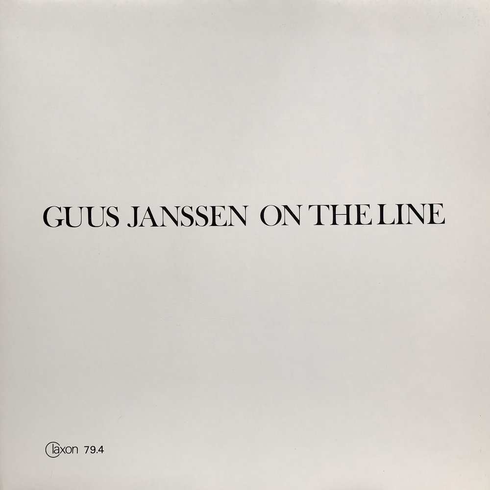 Guus Janssen On the Line