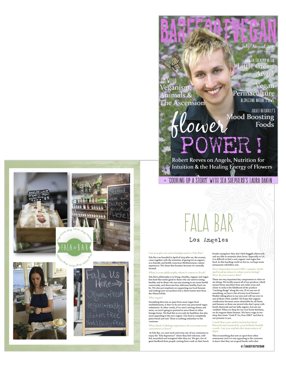 Report about Fala Bar / Barefootvegan