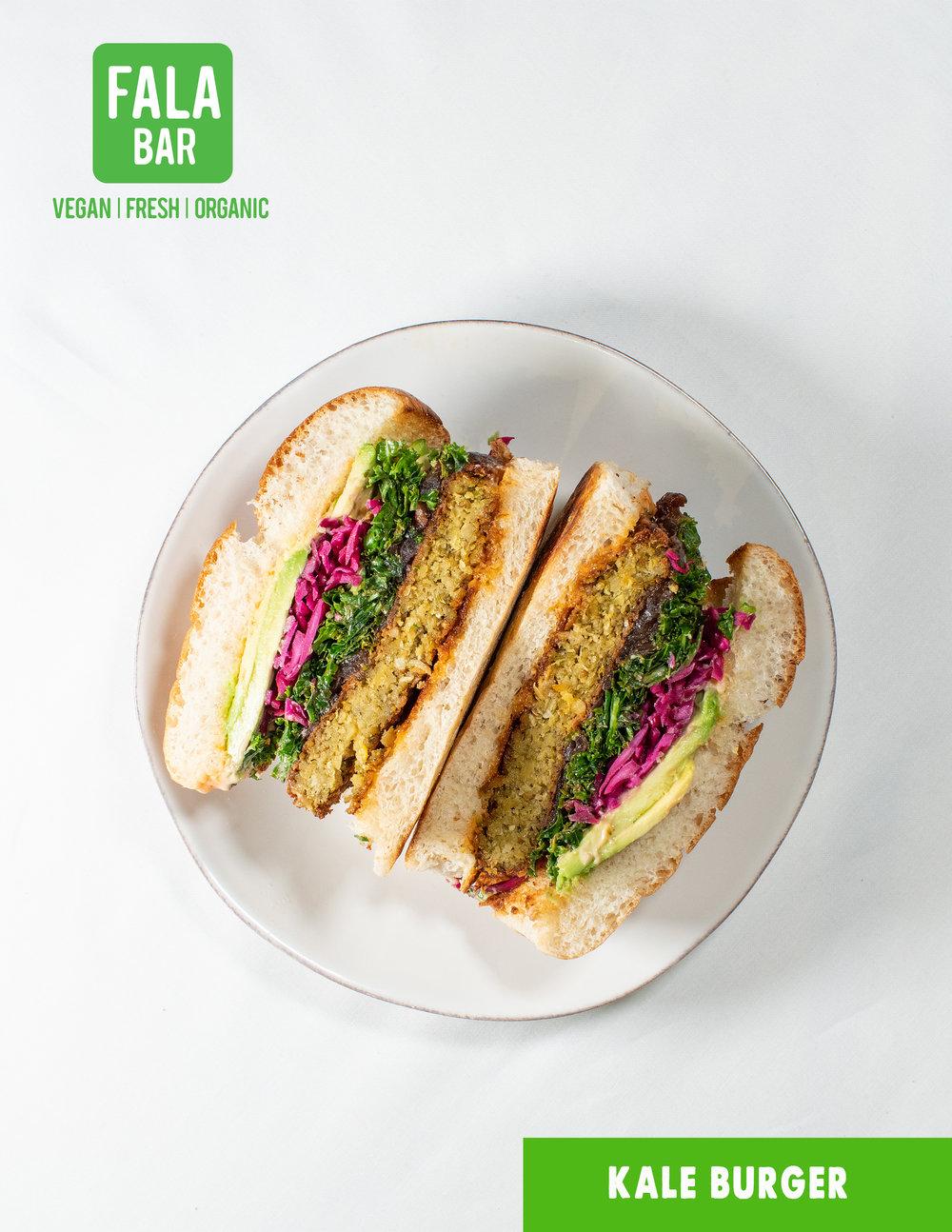 Kale Burger