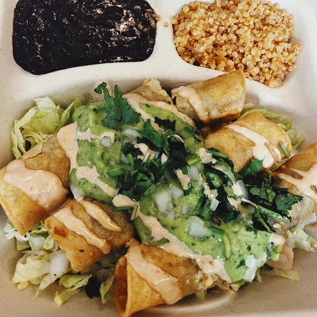 Friday I'm in love. #veganmexicanfood