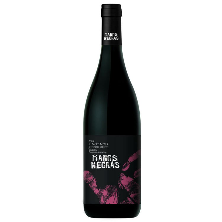 Manos Negras Red Soil Select Pinot Noir 2014 Argentina - $30