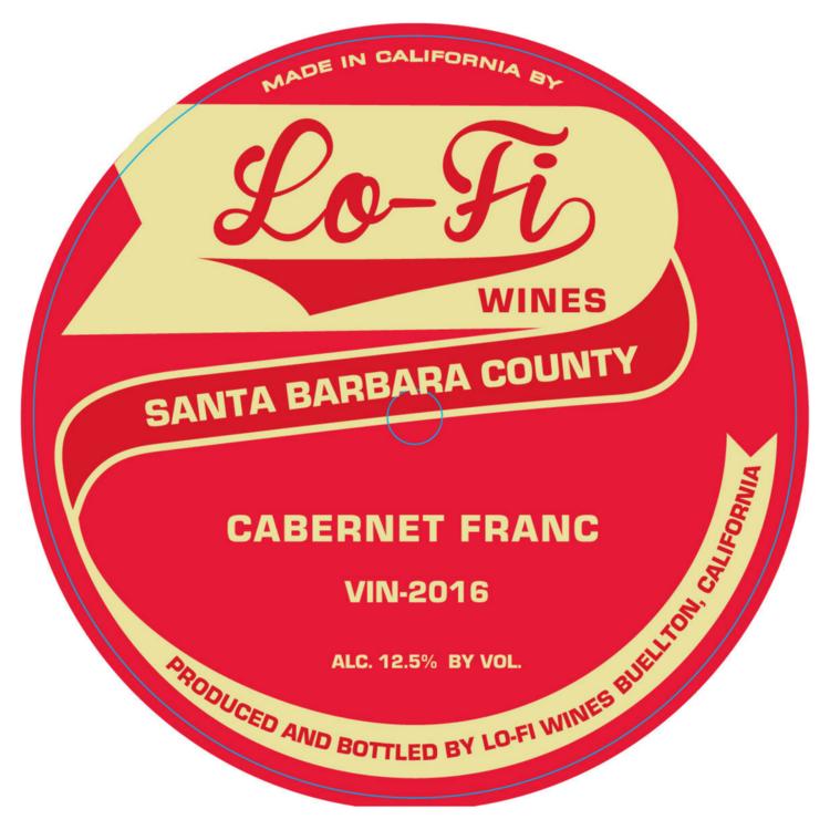 Lo-Fi Santa Barbara County Cabernet Franc 2016 United States - $34
