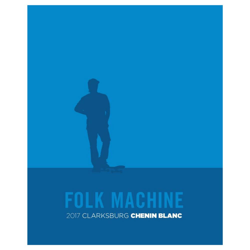 Hobo Wine Co. Folk Machine Chenin Blanc 2017  United States - $27
