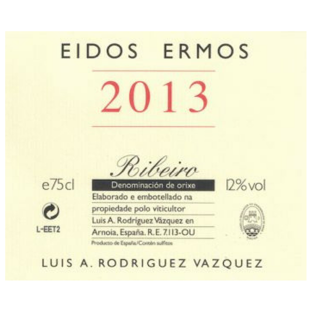 Luis Rodríguez Vázquez Ribeiro Eidos Ermos 2015  Spain - $29