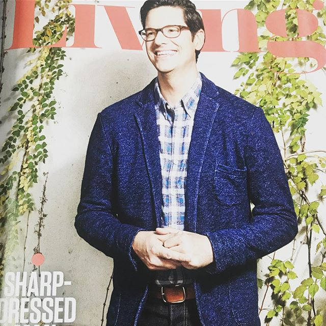 Sharp dressed indeed!  @trevorscottatx looking chic in the Living profile!