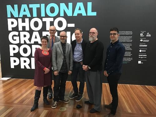 Jude Joanna Gilmore, Angus Trumble NPG Director, Gary, Judge George Fetting, Brett Canet-Gibson, John Benavante