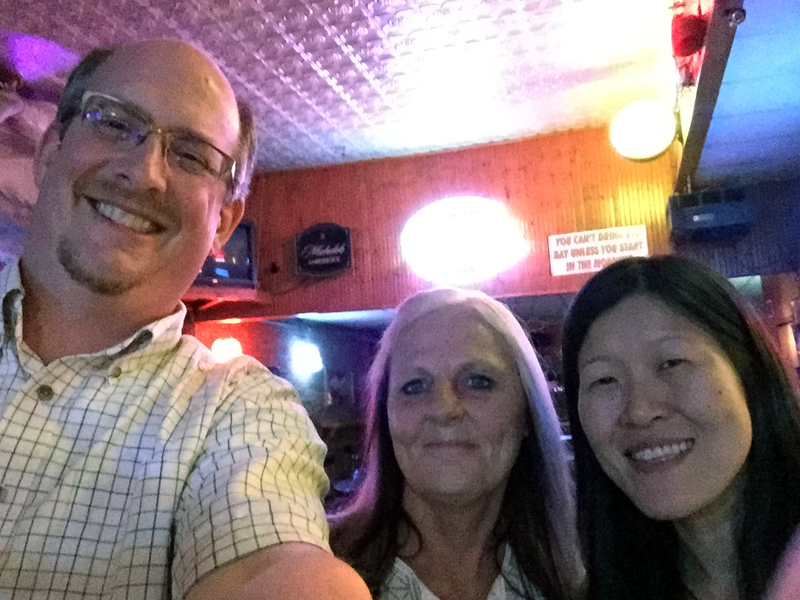 Nancy, Kathy and I at Josie's River Queen