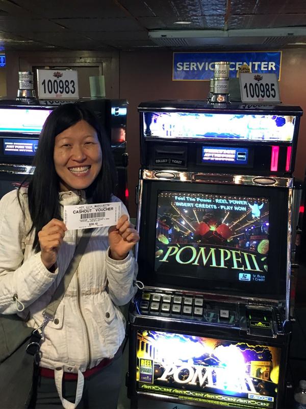"Nancy wins at the casino:""Go big or go home!"""