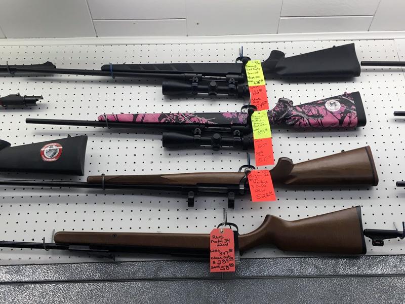 Buy Your Pink Camouflage Gun at Stark's Liquor Store, Prairie du Chien