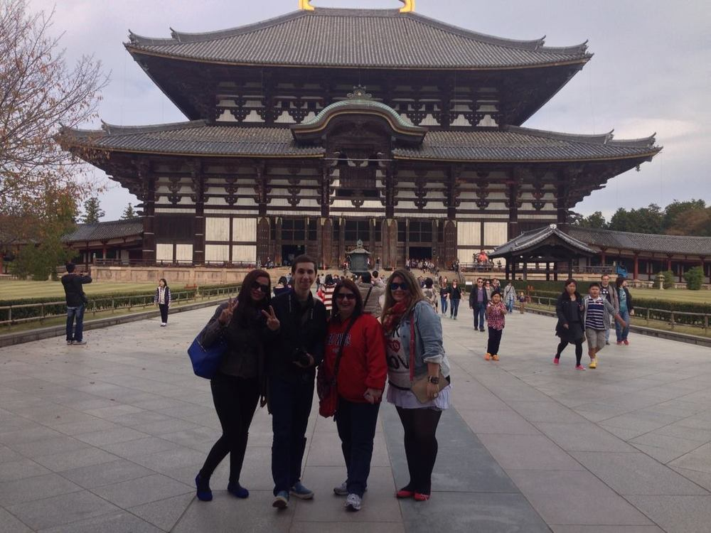 nara todaiji daibutsu kyoto japan private tour