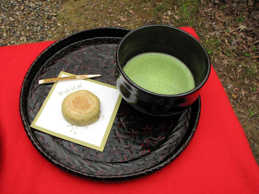 Kyoto Highlights Tour - Matcha tea and wagashi