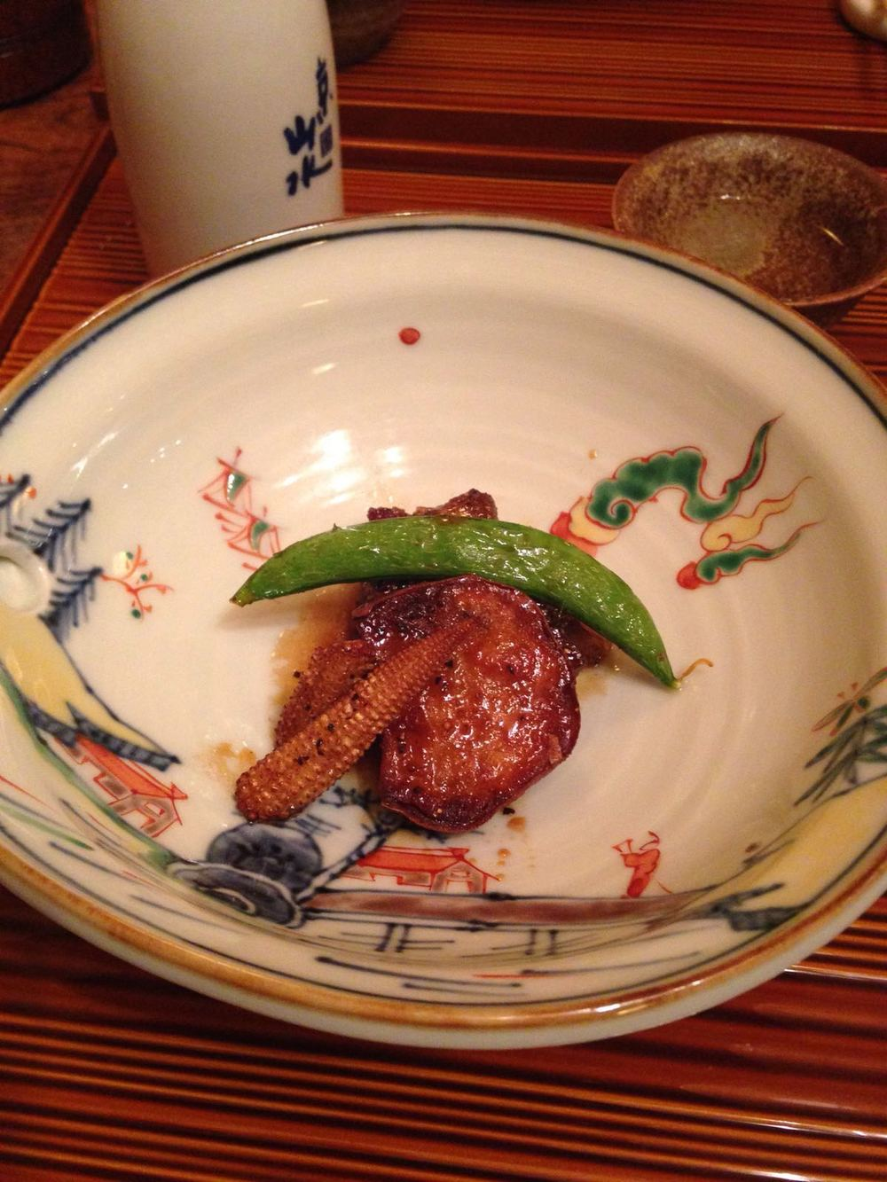 Grilled Kyoto beef