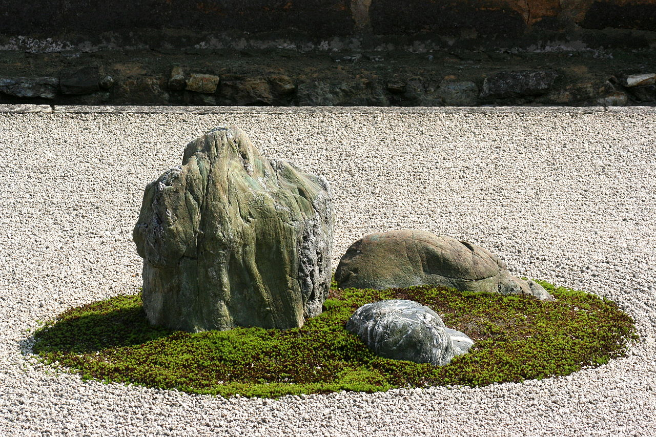 Counting The Stones At Ryoanji Zen Temple Kyo Tours Japan