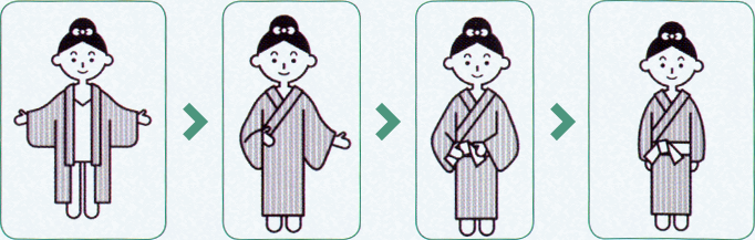 yukata howto