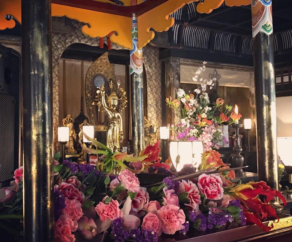 buddha kanbutsue otagi kyoto